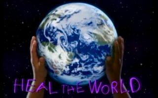 vindeca lumea cu iubire si lumina