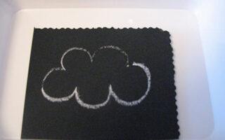 creta alba pentru tabla neagra