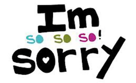imi cer scuze am uitat sa traiesc