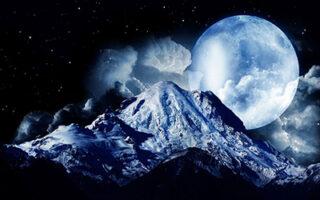 eclipsa de luna si luna plina
