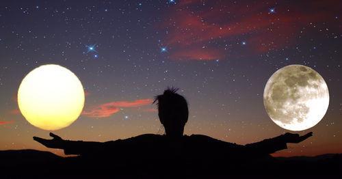 Luna Plina din 11 aprilie reconstructie interioara si in relatii