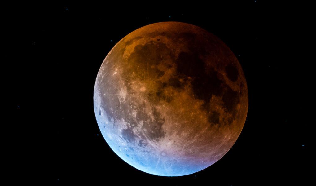 Luna Plină și eclipsă totală de Lună 31 ianuarie conștiență și conștientizare